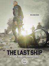 "The Last Ship TV Show Fabric poster 17"" x13"" Decor 06"