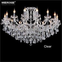 Classic crystal chandeliers Deckenleuchten fixture hotel maria theresa crystal Pendelleuchte light for lobby, foyer MD8477(China)