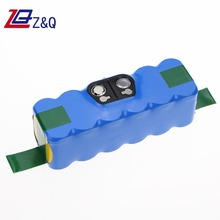 14.4V 6000mah li-ion replacement Battery for iRobot Roomba 500 600 610 611 630 700 760 770 780, 790, 880Vacuum
