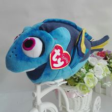 TY Sparkle Dory Fish 1 PC 23CM Dory fish Finding Dory Finding Nemo Big Eye Plush Toys Stuffed animals(China)