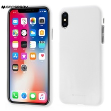 Buy MERCURY GOOSPERY apple iphone X iphonee 10 covers coque Matte Skin TPU Protective Phone Case iPhone X/Ten 5.8 inch White for $5.69 in AliExpress store