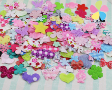 fabric flower mix DIY for wedding decoration and home decoration about 10g/lot,(about 220pcs/bag) 14020006
