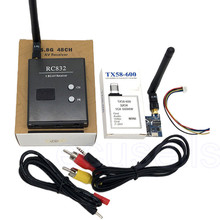Car Video System Wifi Rearview for Aircraft 5G8 600mW 32CH Mini AV Wirelss TX58-600 Transmitter RC832 Receiver for Multicopter