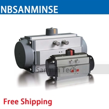 AT-S Pneumatic Actuator Air Torque Ball Valve Butterfly Valve Pneumatic Parts Bump Filter Control High Quality Sanmin(China)