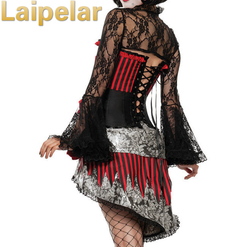 Day Of The Dead Costume Beautiful Adult Skeleton Ghost Zombie Bride  Halloween Womens Horror Fancy Dress Laipelar Holloween Dress | Holiday Giftr
