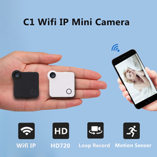 C1 Spied Camera Wifi P2P IP 720P H.264 HD Mini Camera Wireless Action Cam Bike Camera Mini DV DVR Camera Video Voice Recorder