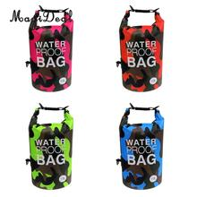MagiDeal Outdoor Sport 10L Camo 500DPVC Waterproof Ultra-Light Dry Bag Sack for Kayaking Camping Rafting Fishing Canoe Boat Acce