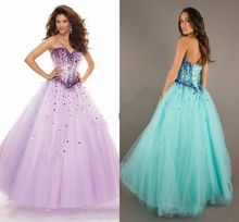 Custom Beaded Sleeveless A Line Formal Long Evening Gowns Tulle Prom Dresses Size 2 4 6 8 10 12 14 16 16w 18w 20w 22w 24w