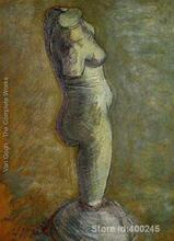 Paintings of Vincent Van Gogh Plaster Statuette Of A Female Torso V art reproductions for sale High quality Handmade