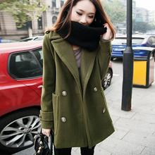 2017 Spring and autumn women's coat large size female double-breasted attractive fashionable Trench coat vestidos