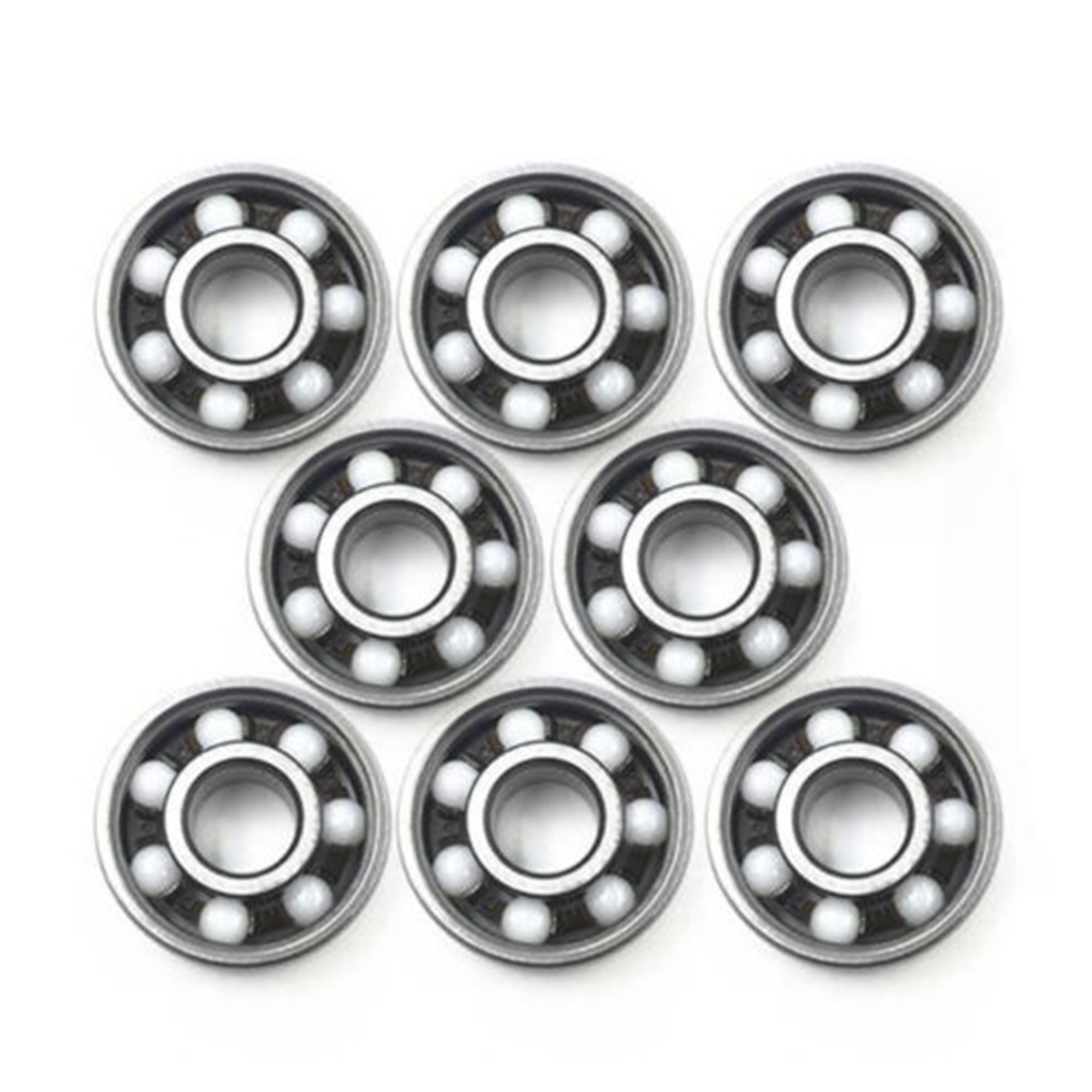 Mayitr New 608 Ball Bearing Spinner Mayitr Ceramic Speed Ball Bearings For Home Tools
