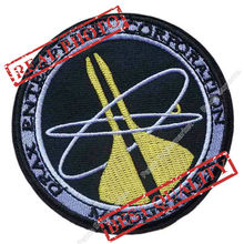 "3.5"" MOONRAKER ""James Bond 007"" Classical DRAX ENTERPRISE CORP Logo TV Seriesapplique sew on iron on patch(China)"
