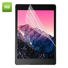 "2Pcs Clear Glossy LCD Screen Protector Protective Film for Google Nexus 9 8.9"" Tablet + Alcohol Cloth + Clean Cloth"