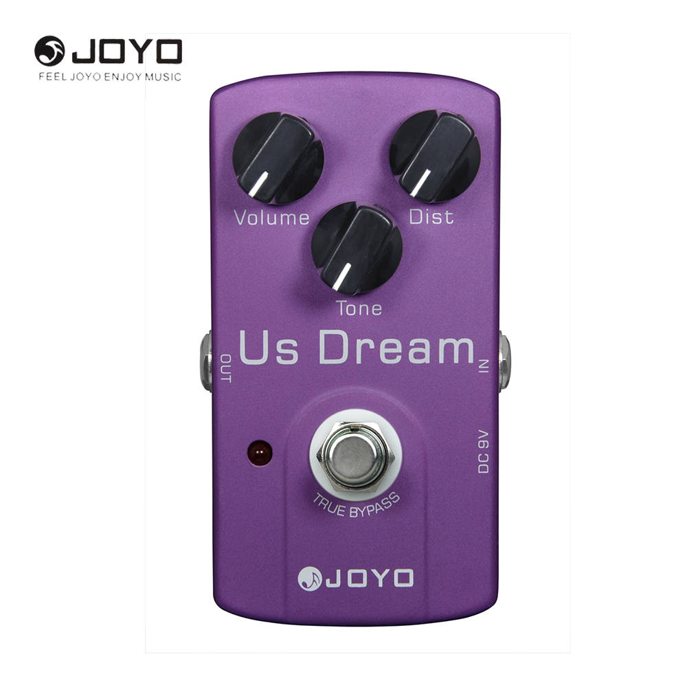 Joyo JF-34 US Dream Electric Guitar Effect Pedal High Gain Distortion True Bypass<br>