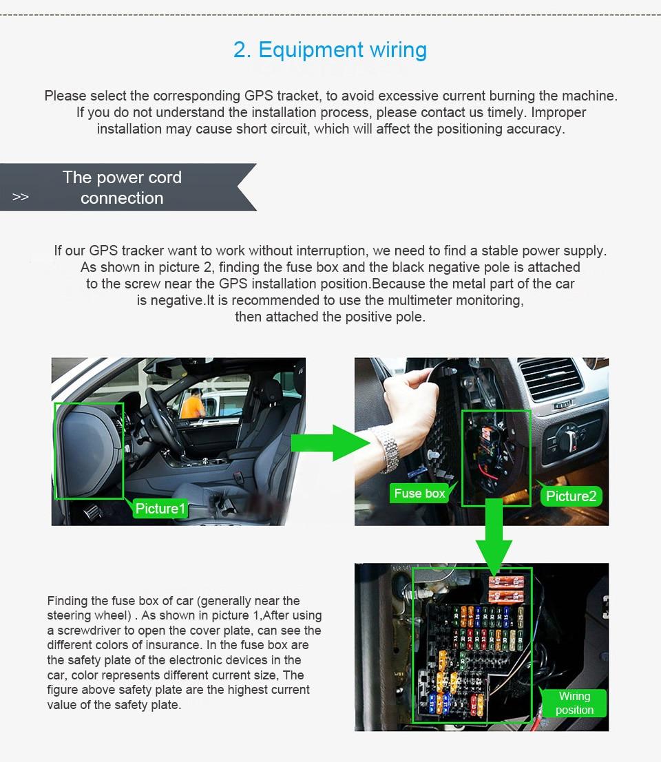 2018 Concox Gps Tracker Installation For Gv20 Gt06e Gt06f Gt06n Car Fuse Box Short 1 2 3 4