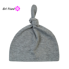 Lovely Beanie Mult-color Cap Baby Newborn Toddler Infant Boys Girls Cotton Knot Sleep Hat