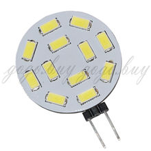 Sencart 1pcs  High Quality G4 12 5730 SMD LED Bulb White 6000-6500K  Wide voltage 10V-30V AC