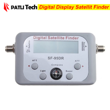 Digital Displaying Satellite Finder SF-95DR Meter TV Signal Finder SF95DR Sat Decoder Satlink receptor, Free Shipping