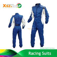 2017 New Arrival Blue F1 Jacket Karting Suit Car Motorcycle Racing Club Exercise Clothing Overalls Suit Two Layer Waterproof