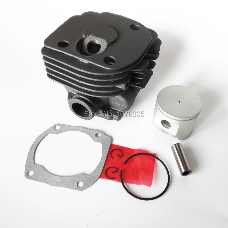 48MM CYLINDER PISTON KIT FOR HUS 365 round cylinder Cut off saws Chainsaw<br>