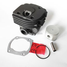 48MM CYLINDER PISTON KIT FOR HUS 365 round cylinder Cut off saws Chainsaw(China)