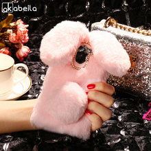 Buy AKABEILA Silicon Case Wileyfox Swift 2X Cases Rabbit Hair Bling Diamond Wileyfox Swift 2X Soft TPU Cute Anti-knock Cover for $5.80 in AliExpress store
