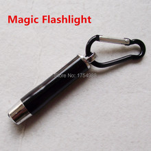 Real room escaping game, laser flashlight to escape, magic torch to open the lock real life room escape party game props