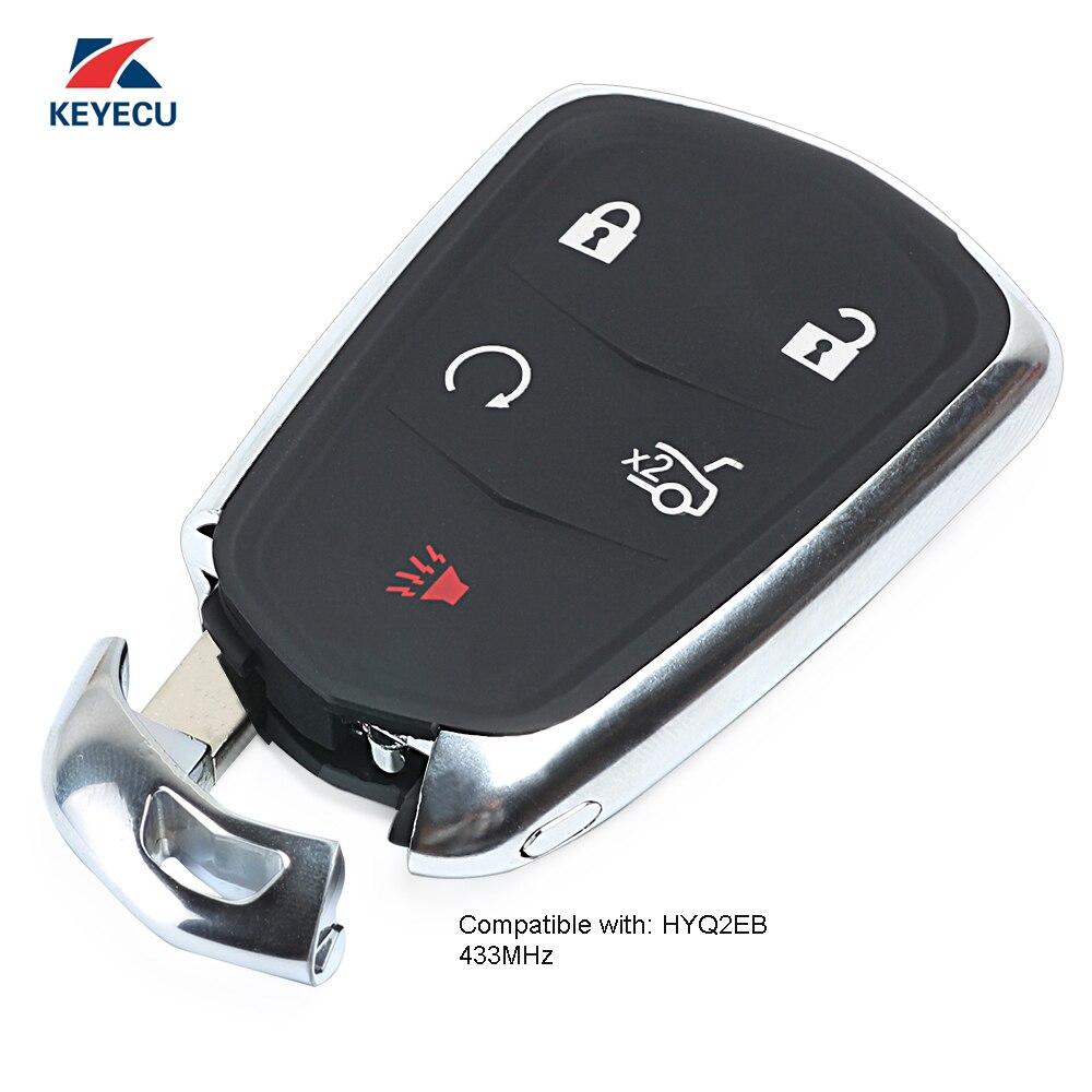 2 Car Key Fob Keyless Entry Remote 3B For 2004 2005 2006 Cadillac SRX