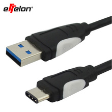 Effelon USB Type C Cable 3.1 USB Type-C Chager Data Cable USB C Mobile Phone Cable for Xiaomi OnePlus 2 Nexus 6P 5X ZUK Z1 Z2