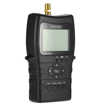 TM-8500 for Satellite Signal Finder Meter DVB-S/S2 HD Digital for Satellite TV Finder LCD Dispaly 1400mAh Battery EU Plug