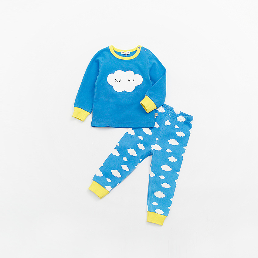 peninsula baby new arrive Toddler baby boy girl costume autumn  Kid climb clothes Thicken Long Sleeve Tracksuit Homewear<br>