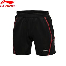 Buy Li-Ning Men Badminton Shorts Polyester Fiber Quick Dry Breathable Flexible Training Game Sport Shorts Li-Ning AAPK301 MKY220 for $25.99 in AliExpress store