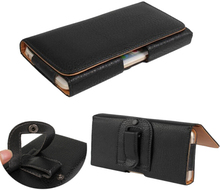 Leather Pouch Holster Belt Clip Case Holder For Nokia 5230 5233 5235 5238 5228,High Quality,Free(China)