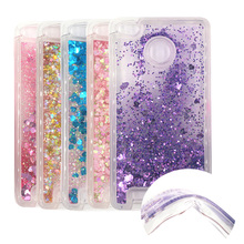 Xiaomi redmi 3S Dynamic Liquid Glitter Sand Quicksand Star Soft TPU Case For redmi 3 pro/hongmi 3 pro Crystal Clear Back Cover
