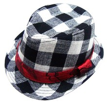 2017 Fashion Jazz Toddler Kids Baby Boy Girl Cap Cool Photography Fedora Hat For Children(China)