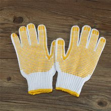 NEW Labor Insurance Supplies Gloves Antiskid Anti-Static Protective Glue glove Cut Welding Gloves Good Quality
