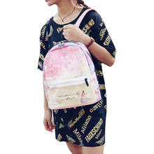 Fashion Colorful Flower Women Clear Backpack Girl School Bags Pink Blue Transparent Backpacks For Teenage Girls Travel Luggage