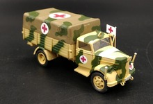 IXO 1:72 World War II the Germans Opel truck transport ambulance personnel carrier model Alloy Finished Product Model