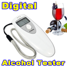Portable Prefessional Breath Alcohol Analyzer Digital Breathalyzer Tester Body Alcoholicity Meter Alcohol Detection