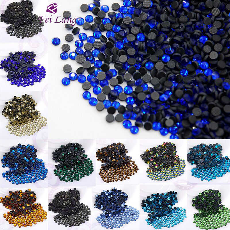 All Color All Size Stones Crystals Hotfix Rhinestones For Wedding Dress  Accessories Sewing Decoration Irons On DIY de0a2b4f174e