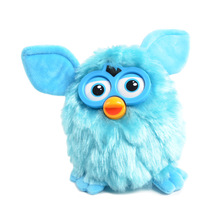 Robotic Furbiness Phoebe Talking Hamster Interactive Pets Owl Electronic Recording Child Gift Toys , 17cm(China)