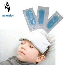 10 Pieces Price Promoting Sale 4*11cm Baby Fever Cooling Patch Cooling Plaster Ice Cooling Sheet Patch
