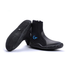 Wading beach surfing snorkeling diving boots 5MM  Winter swim Fins  swim flippers SCR Neoprene Vulcanization