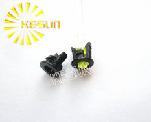 1000 x 3MM Led Holder Plastic Black LED Connector Long Short Leg Buckle led Bezel Holder for 3mm Light-emitting Diode