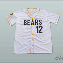 Bad News Bears #3 #12 Tanner Boyle Stitched Any Number Custom Let Freedom Ring Mens Shirts Customized White Baseball Jerseys(China)