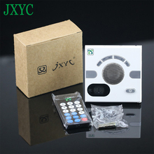 JXYC Portable Wall Mount Speaker Mini Design Multi-functional FM Radio Stereo Speaker socket panel loudspeaker box