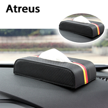 Buy Atreus High Carbon Fiber Car Tissue Boxes Paper Towel Mercedes benz W204 W203 W211 AMG Mini cooper Skoda octavia a5 for $14.40 in AliExpress store