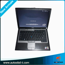 For Dell D630 Core2 Duo 1,8GHz, WIFI, DVDRW Second Hand Laptop For BMW For ICOM ,MB Star Diagnosis With 4G Memory(China)
