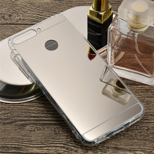 Buy Luxury Bling Mirror Soft TPU Phone Bag Huawei Honor 7A Pro Case AUM-L29 Clear Plastic Cover Huawei Enjoy 8E Funda (L0530 for $1.45 in AliExpress store