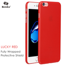 For iPhone 6S Plus Red Case Cover Benks Hard PP Frosted Matte Cover for iPhone 6S Red Case Slim Protective Shield for iPhone6s